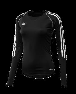 adidas T12 Clima Cool Shirt Langarm WOMAN schwarz adi X13170