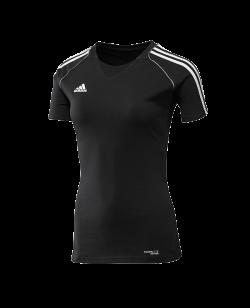 adidas T12 Team Shirt woman SS Kurzarm schwarz adi X13800