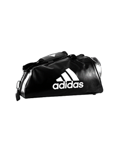 adidas WAKO Sporttasche Zipper Bag 2 in 1 schwarz/weiss adiACC051