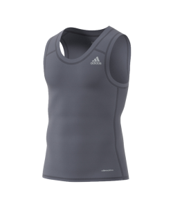 adidas Techfit  BASE TANK MEN grau size AJ4955