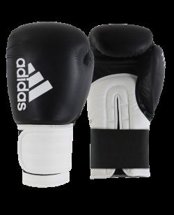 adidas HYBRID 100 Boxhandschuhe schwarz/weiss adiH100