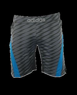 adidas Ultimate Athlete Training Shorts S/S M granit/grau adiMMAS04