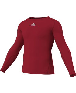 adidas Compression Shirt TF C&S LS rot adiP92261