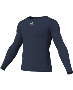 adidas Compression Shirt TF C&S LS blau adiP92266