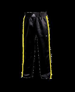 adiPFC01B Kickboxhose schwarz gelb Clima Cool adidas