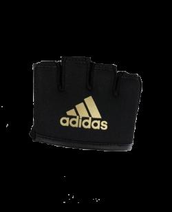 adidas Knuckle Sleeve Finger Knöchelschutz onesize schwarz/gold adiSkS01