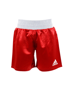 adidas Multi Boxing Short rot weiss ADISMB01-2