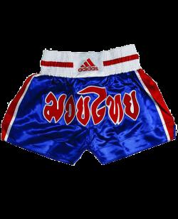adiSTH02 Thai Short Schrift blau/rot adidas