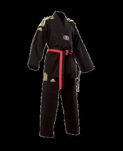 adidas Taekwondo Champion Colour Anzug schwarz/gold adiTCC01
