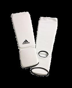adidas Schienbein/Ristschutz Elastic Cotton Farbe weiß  ADITES02