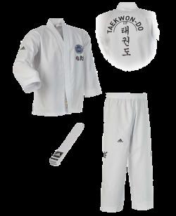 adidas ITF TAEKWONDO Anzug Student weiss ADITITF01
