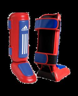 adiTSN01 Schienbein-Ristschutz Thai Pro rot/blau adidas