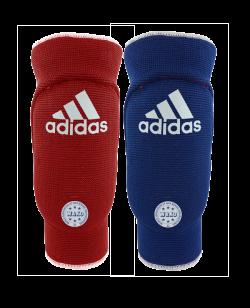adidas WAKO Reversible Ellbogenschutz rot/blau adiWAKOEB01
