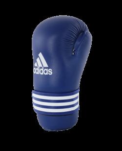 adidas WAKO Kickboxing Open Hand blau ADIWAKOG3