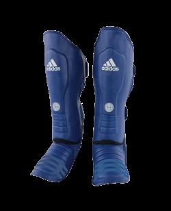adidas Super Pro Schienbein Ristschutz WAKO blau adiWAKOGGSS11