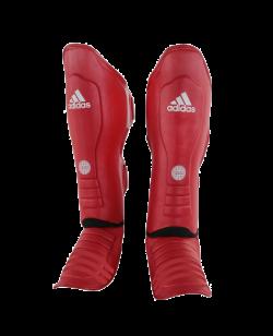 adidas Super Pro Schienbein Ristschutz WAKO rot adiWAKOGGSS11