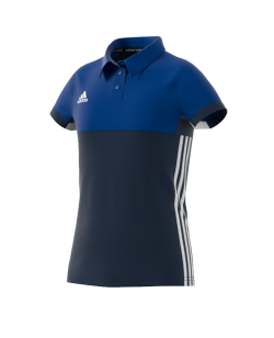 adidas T16 Climacool POLO YOUTH GIRLS blau AJ5258