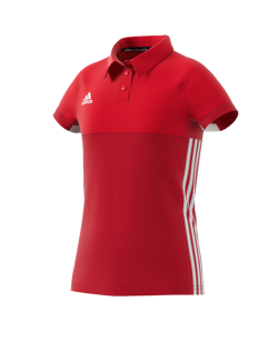 adidas T16 Climacool POLO YOUTH GIRLS rot AJ5259