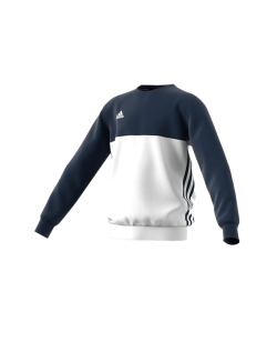 Adidas T16 CREW SWEATER YOUTH blau/weiss AJ5266
