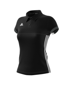 adidas T16 TEAM POLO WOMAN schwarz/grau AJ5273