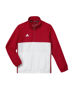 adidas T16 Team JKT YOUTH Jacke rot/weiss AJ5324