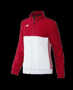 adidas T16 Team JKT WOMEN Jacke rot/weiss AJ5328
