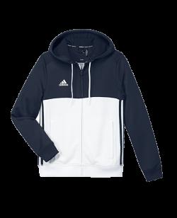 adidas T16 Hoody YOUTH blau/weiss AJ5400