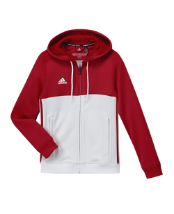 adidas T16 Hoody YOUTH rot/weiss AJ5401