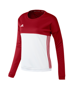 adidas T16 Crew Sweater WOMAN rot AJ5416