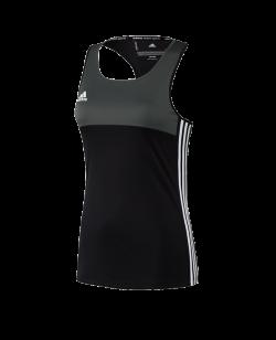 adidas T16 Clima Cool SL TEE WOMAN schwarz/grau AJ5453