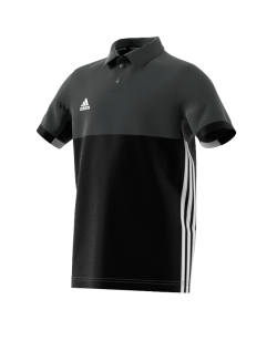 adidas T16 Climacool Polo Shirt  Youth BOYS schwarz/grau AJ5470