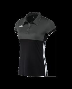 adidas T16 Climacool Polo Shirt WOMAN schwarz/grau AJ5475