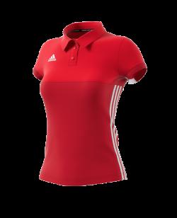 adidas T16 Climacool Polo Shirt WOMAN rot AJ5477
