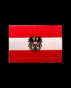Aufnäher Nationalteam Österreich mit Adler gewebtes Abzeichen 10 x 7cm