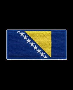 Aufnäher Stickabzeichen Bosnien Flagge
