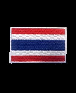 Aufnäher Stickabzeichen Thailand Flagge Gr. 8x5