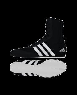 adidas BOX HOG 2 schwarz weiss BA7928 EU 43 1/3 UK9 EU43 1/3 UK9