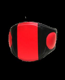 FW OCTAGON Belly Pad Bauchschutz Gürtel für Trainer schwarz rot