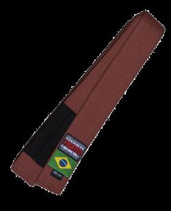 FW Brazilian Jiu Jitsu Gurt braun