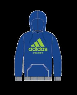 adidas Community Hoodie Boxing blau adiCHB