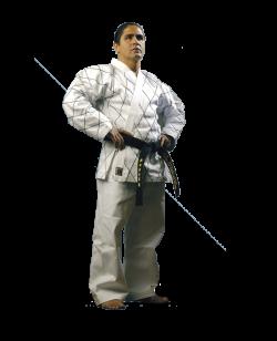 BN Hapkido Uniform weiß KARO Bestickung