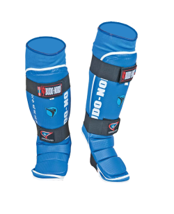 BN Jiu Jitsu Schienbein Ristschutz XL blau IJJF approved XL