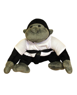FW Stofftier Gorilla Gr. M the Black Belt Fighter