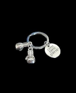 FW Schlüsselanhänger Boxhandschuh silber Stahl, Keychain boxingglove