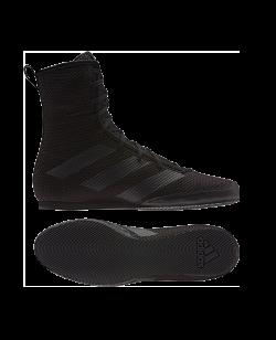 adidas Box Hog 3 Boxerschuhe schwarz