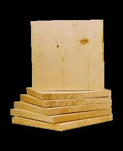 Bruchtestbrett aus Leimholz ca. 30x30cm