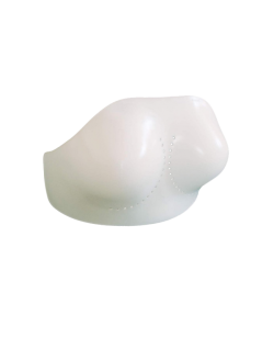 Brustschutz MAXIGUARD Protektor Plastik Schale weiß