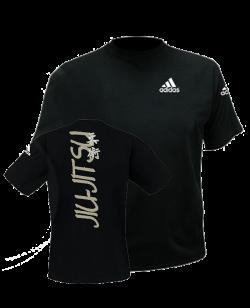 adiTS 01JJ Budo Spirit Jiu Jitsu T Shirt M schwarz adidas M