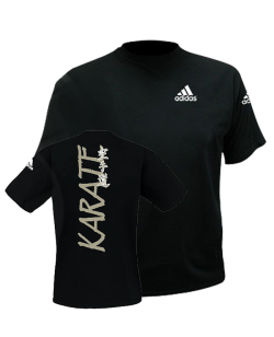 adiTS 01K Budo Spirit Karate T Shirt schwarz adidas