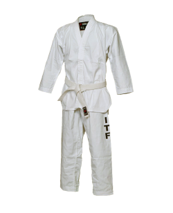 BN Taekwondo Anzug Basic mit ITF Aufdruck weiß